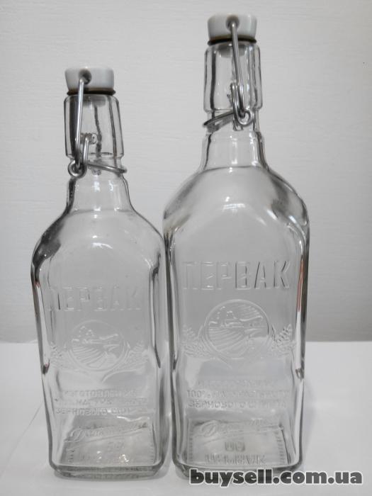 Стеклобутылка обработанная ультразвуком и кварцем. изображение 2