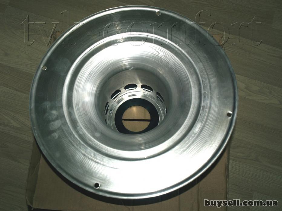 Колпак шахты с оголовком для Vaillant арт. 303261 алюминиевый изображение 4