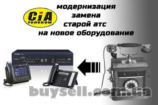 Модернизация,   замена или обмен старой АТС на новое оборудование