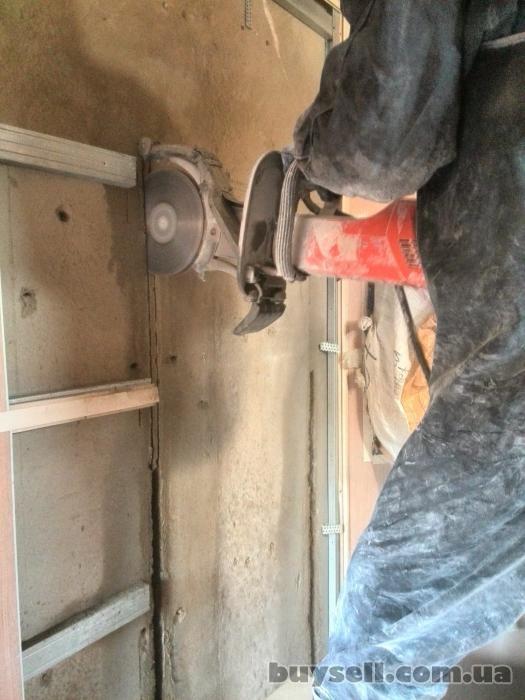 Алмазное сверление отверстий демонтаж бетона вырезка проемов стен