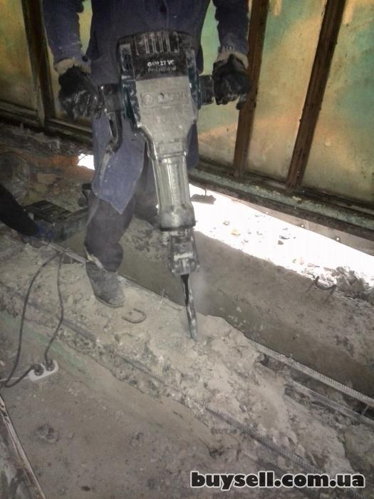 Алмазное сверление отверстий демонтаж бетона вырезка проемов в Одессе