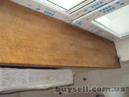 Деревянные подоконники.  Сосна,  дуб.  Установка подоконников изображение 2