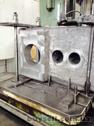 Корпус гранулятора ОГМ1. 5 литой чугунный изображение 2