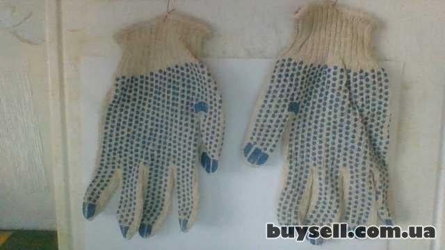 Перчатки х/б вязаные с полимерным покрытием