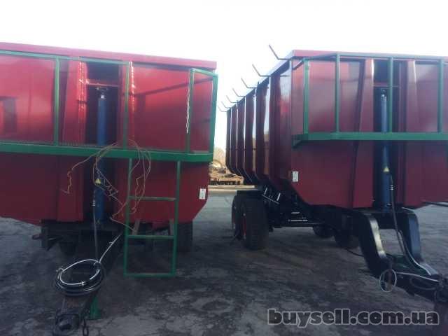 Тракторный самосвальный прицеп НТС-16, НТС-10,  НТС-5,  ПТС-6,  ПТС-4 изображение 2