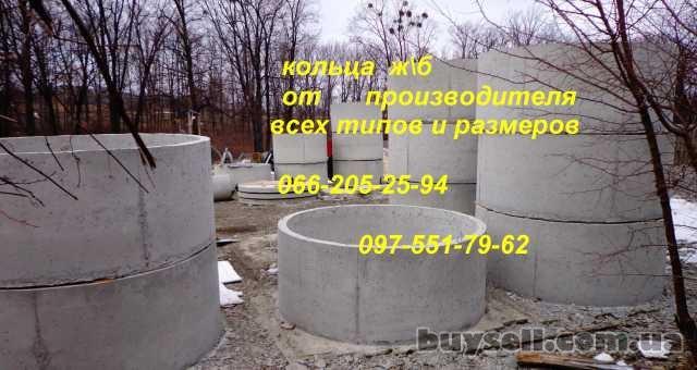 Железобетонные колодезные ж/б кольца -Харьков.Выкопать колодец,септик