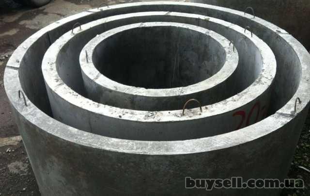 Железобетонные колодезные ж/б кольца -Харьков.Выкопать колодец,септик изображение 4