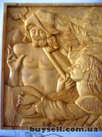 Резьба по дереву изображение 3
