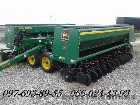 Сеялка зерновая John Deere 455 изображение 5