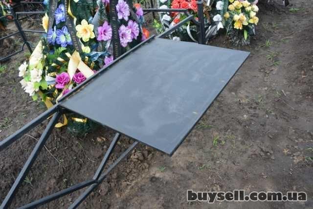 """Лавочки и столы мет.  на кладбище,  """"Броневик"""" Днепропетровс изображение 3"""