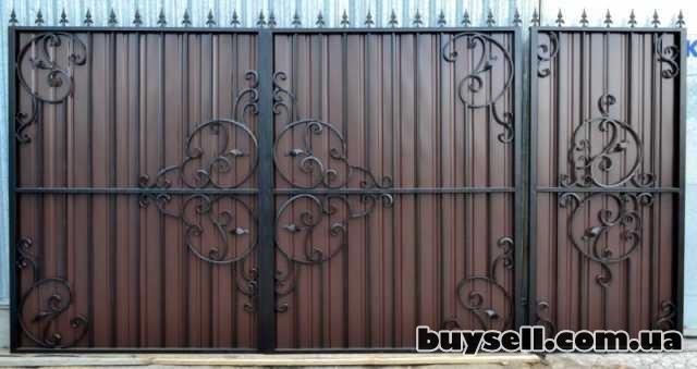 Ворота распашные Луцк изображение 5