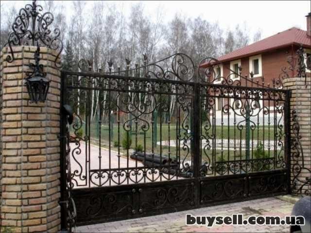 Ворота распашные Луцк изображение 4