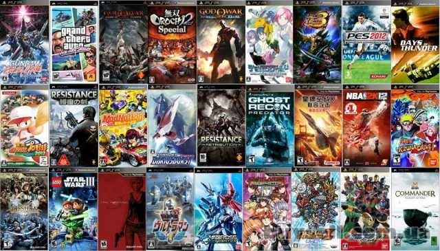 Игры на PSP большой выбор изображение 2
