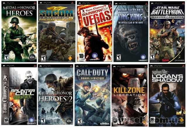 Игры на PSP большой выбор изображение 3