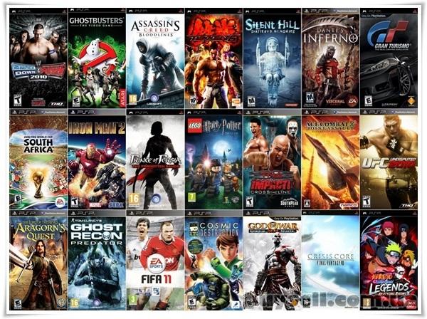 Игры на PSP большой выбор изображение 5