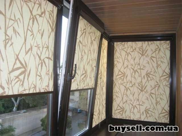 Рулонные шторы, тканевые ролеты изображение 5