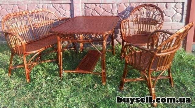 Мебель плетеная из лозы. изображение 2