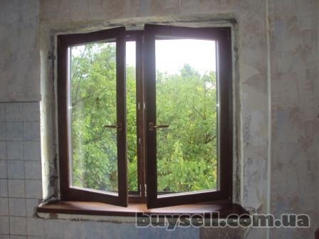 Деревянные Окна, Окна Со Стеклопакетом, Остекление изображение 3