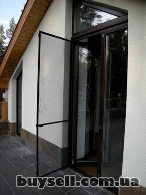 Антимоскитные сетки на окна, двери. Надежная защита от комаров! изображение 2