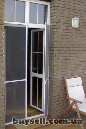 Антимоскитные сетки на окна, двери. Надежная защита от комаров! изображение 4