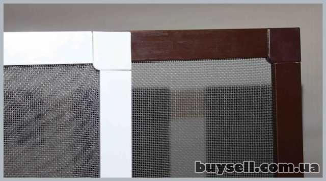 Антимоскитные сетки на окна, двери. Надежная защита от комаров! изображение 5