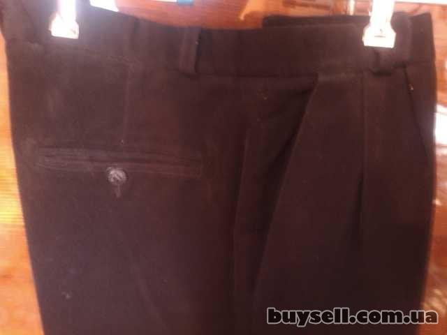 Продам б/у мужские классические брюки изображение 4