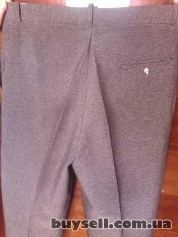 Продам б/у мужские классические летние брюки изображение 5