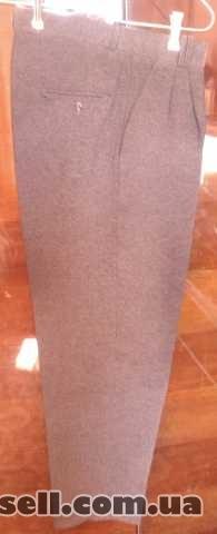 Продам б/у мужские классические летние брюки изображение 4