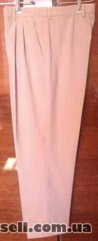 Продам б/у мужские летние брюки