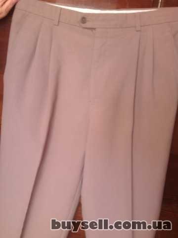 Продам б/у мужские летние брюки изображение 2