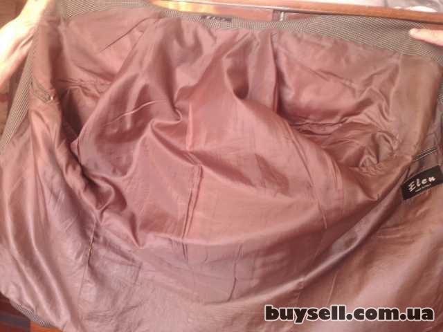 Продам б/у мужской итальянский пиджак изображение 3