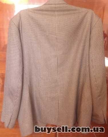 Продам б/у мужской итальянский пиджак изображение 2