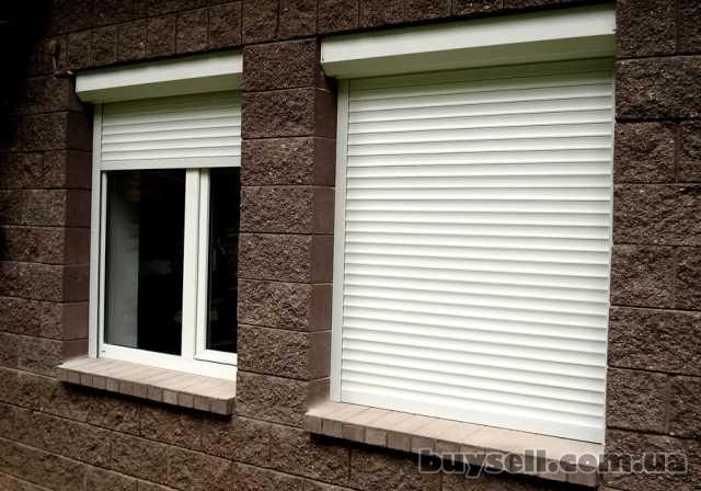 Роллеты.Защитные роллеты.Роллеты на окна и на двери.Буча, Ирпень,Госто изображение 3