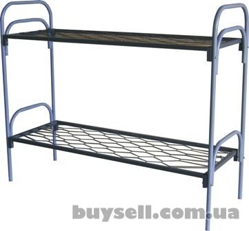 Армейские металлические кровати,  двухъярусные кровати для лагерей изображение 3