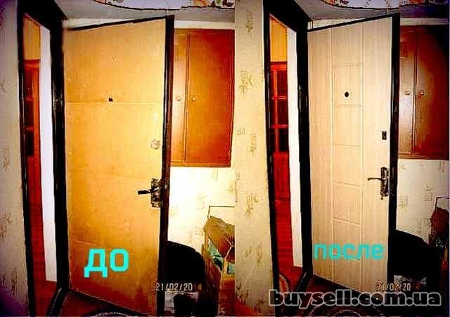 Дверные накладки изготавливаем по индивидуальному заказу изображение 2