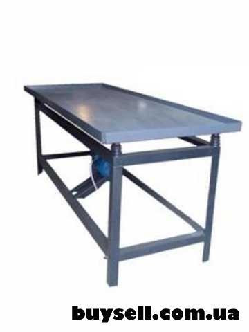 Вибростол для плитки и заборов