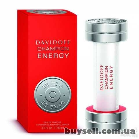 Davidoff Champion Energy туалетная вода 90 ml.  Давидофф Чемпион