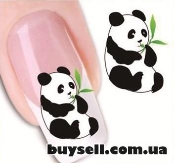 Наклейки на ногти маникюр изображение 5