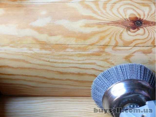 Шлифовка деревянного сруба