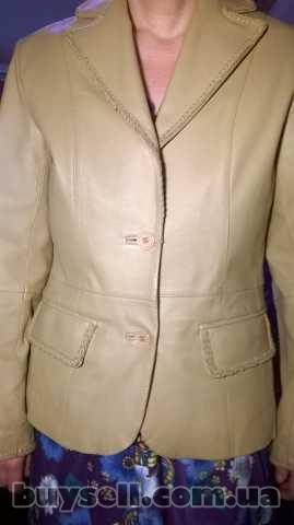Куртка шкіряна, жіноча. изображение 2
