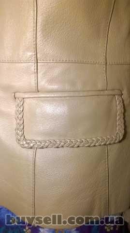 Куртка шкіряна, жіноча. изображение 5