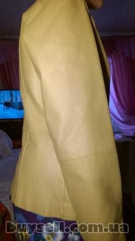 Куртка шкіряна, жіноча. изображение 4