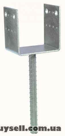 Опора колонны | консоль колонны | основание столба тип U изображение 2