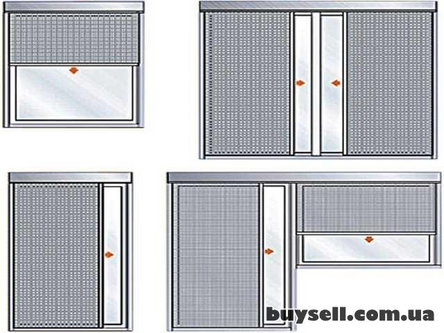 Москитная сетка на окна  и двери, ролетная, рамочная. изображение 4