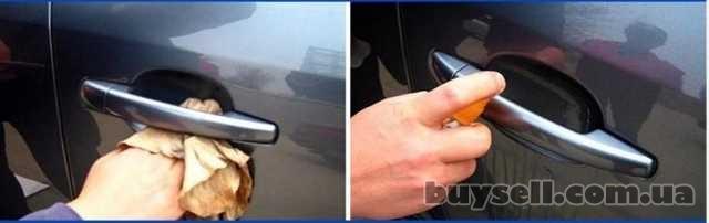 Наклейки для защиты зон под ручками авто от царапин и сколов изображение 3