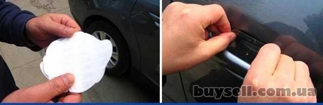 Наклейки для защиты зон под ручками авто от царапин и сколов изображение 4