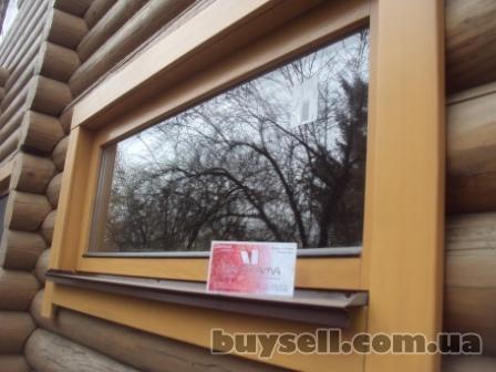 Деревянные окна для деревянного дома.   деревянные окна со стеклопакет изображение 5