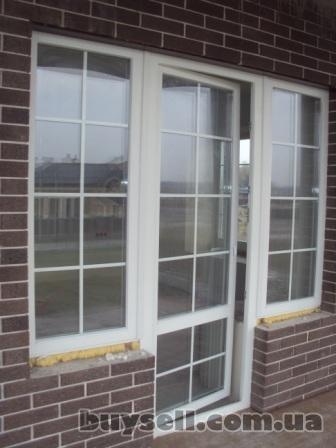 Окна деревянные,  остекление балкона,  установка окон изображение 3