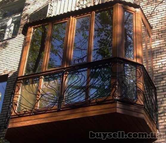 Балконы,  Лоджии под ключ Киев и Область Установим / Остеклим / Обшием изображение 3