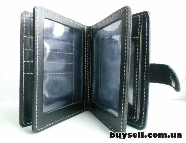 Бумажник для водительских документов (натуральная кожа) изображение 3